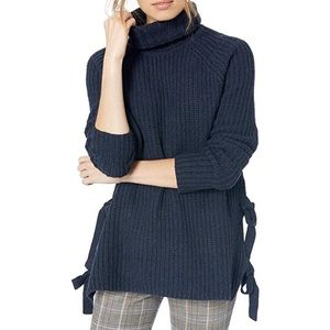 Ugg Ceanne Turtleneck Navy Wool Blend Sweater NWT